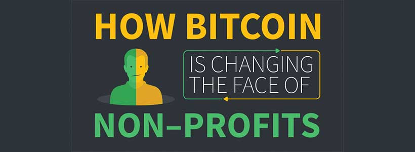 Nonprofit organizations about bitcoins