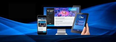 iBid Events screens