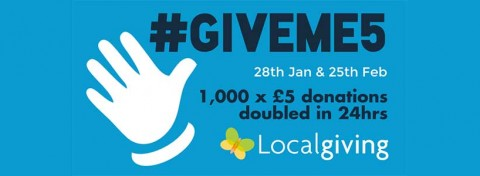 Localgiving's #Giveme5