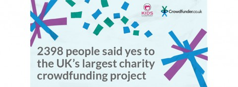 Crowdfunder - donor numbers for Kids Company crowdfunding campaign