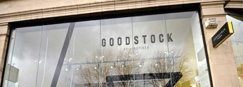 Goodstock, vInspired's youth charity shop in Manchester