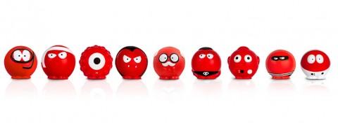 Nine red noses for Comic Relief 2015