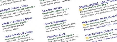 Sample charity google adwords