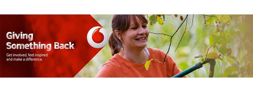 Vodafone Giving Something Back