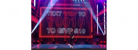 Text to donate on Red Nose Day 2015