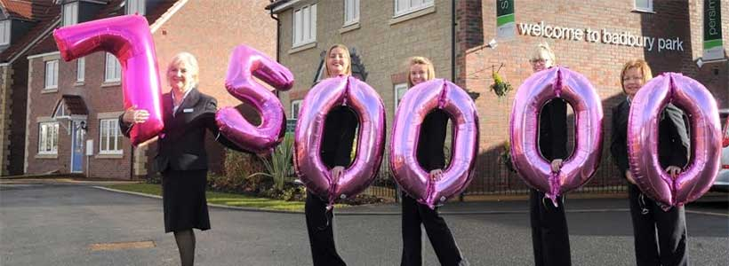 £750,000 available from Persimmon Community Fund