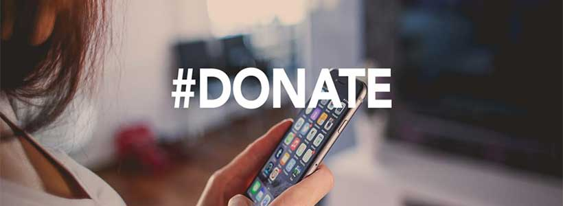 how to set up donations from paypal