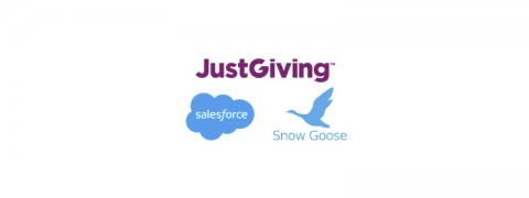 JustGiving Salesforce and Snowgoose