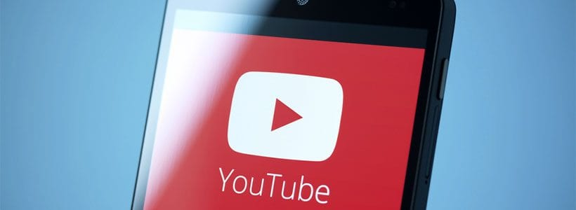 YouTube on mobile - image: Bloomua on Shutterstock.com