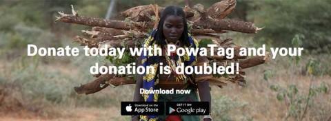 Christian Aid Week 2015 and PowaTag mobile giving
