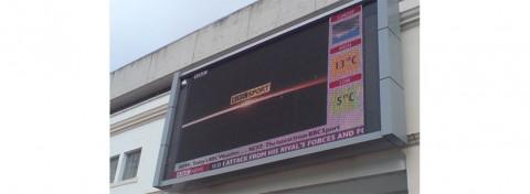 Bristol Big Screen in Millennium Square by DCRC-UWE on Flickr.com