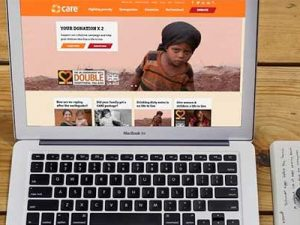 CARE International uses crowdsourcing to check new website design