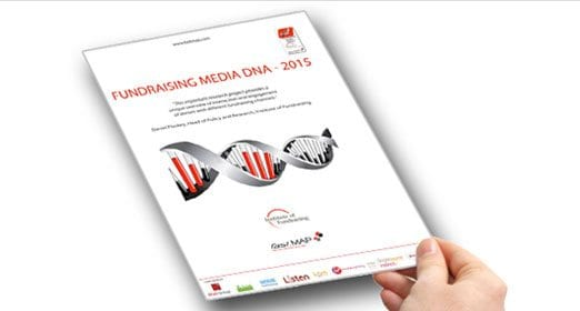 Fundraising Media DNA report by fast.MAP and the Institute of Fundraising