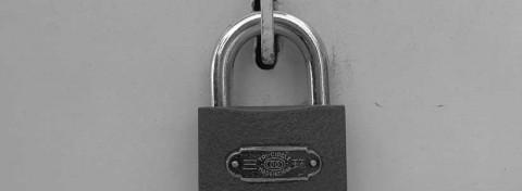 Lock - photo: Howard Lake on Flickr.com