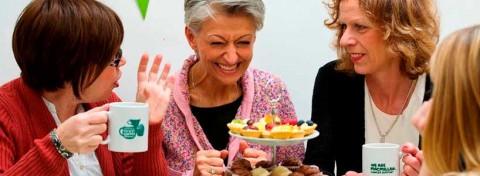 Macmillan Cancer Support coffee morning fundraising