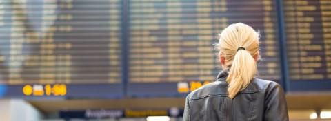 Airport destination boards by Matej Kastelic on Shutterstock.com