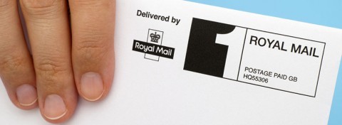 Envelope delivered by Royal Mail - photo: Ekaterina_Minaeva on Shutterstock.com
