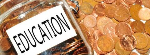 Education coin jar - Lucian Milasan on Shutterstock.com
