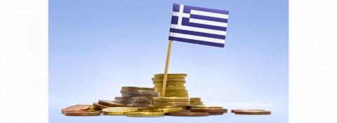 Greek flag and money - photo: Per Bengtsson on Shutterstock.com