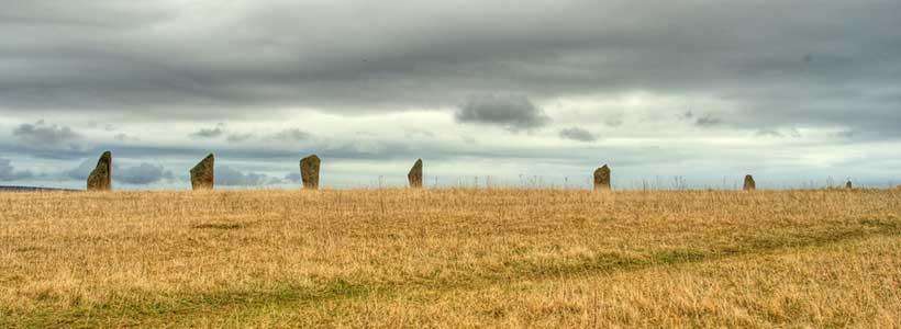 Orkney standing stones - Antonin Vinter on Shutterstock.com