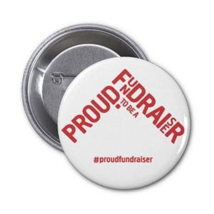 Proud to be a fundraiser badge