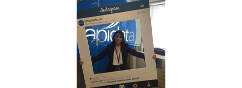 Rapidata UK's Instagram frame at IOF National Convention
