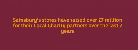 Sainsbury's Local Charity partners' total income