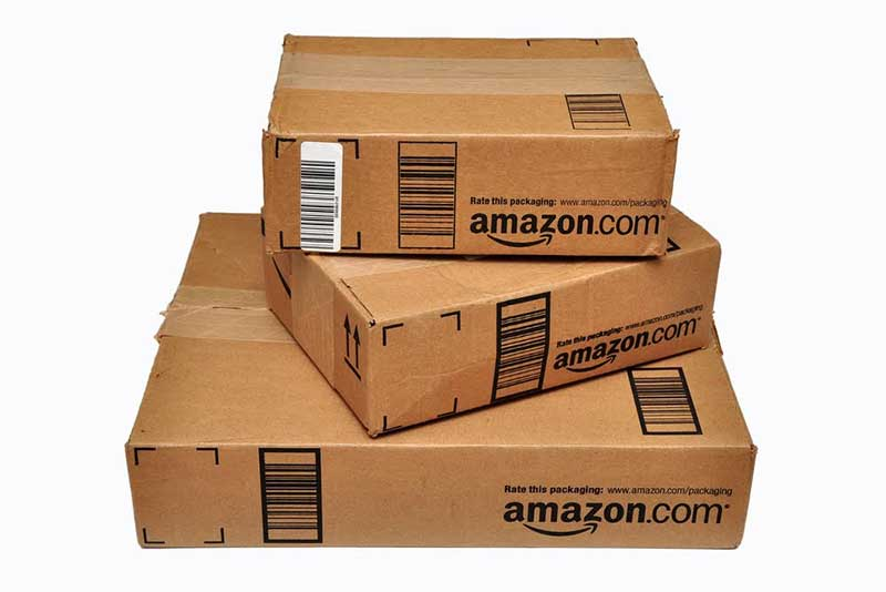 Amazon parcel boxes - Joe Ravi. Shutterstock.com