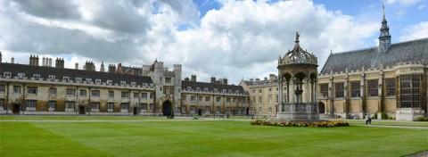 Great Court, Trinity College, University of Cambridge - photo: PlusONE on Shutterstock.com
