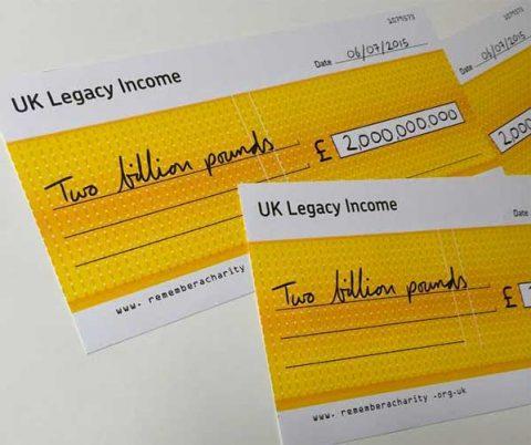 Legacies yield £2 billion to charities year after year