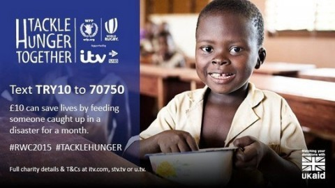 Tackle Hunger Together fundraising appeal