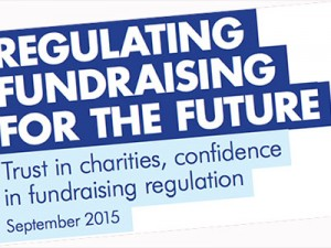 Overhauling the regulation of the fundraising sector