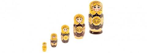 Traditional Russian doll 'Matreshka' by Anton Mezinov on Shutterstock.com