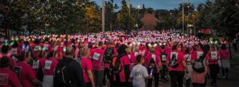 Sparkle Light walk hospice fundraising event