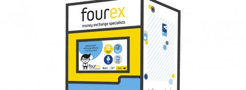 Fourex foreign currency conversion machine