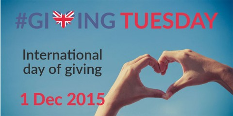 Giving Tuesday 2015 heart shaped fingers