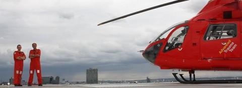London's Air Ambulance and crew