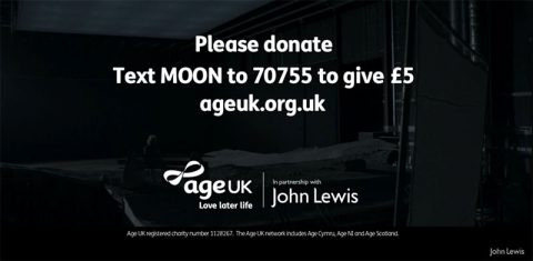 John Lewis Christmas appeal for Age UK
