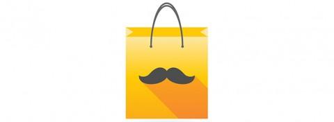 Moustache shopping bag - Blablo101 on Shutterstock.com