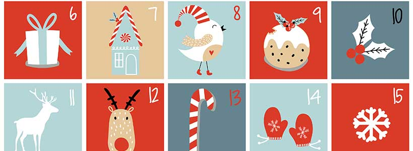 Advent calendar by Ksenia Lokko on Shutterstock.com