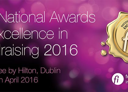 Irish fundraising awards winners announced