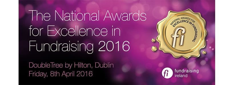 Fundraising Ireland national awards for excellence in fundraising 2016