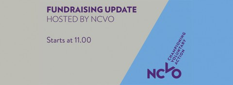 Fundraising update - livestream via NCVO