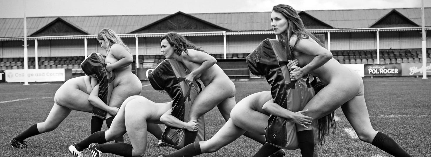 nude calendars score points for charity uk fundraising