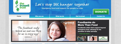 Let's stop UK hunger together
