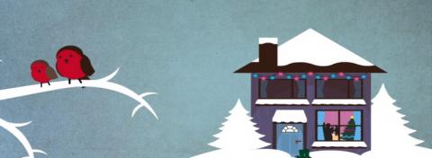 Winter House Birds
