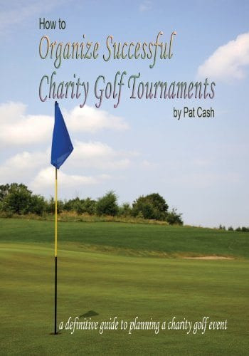 How to organize successful charity golf tournaments Pat Cash