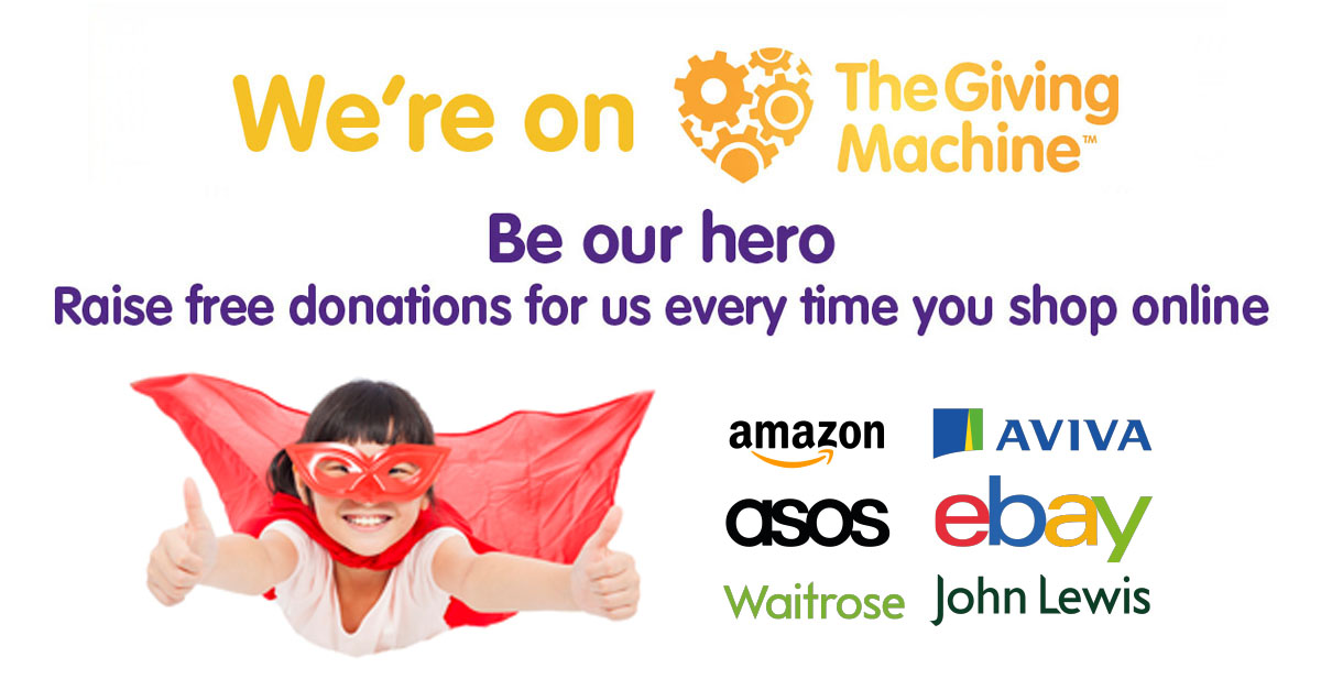 We're on The Giving Machine