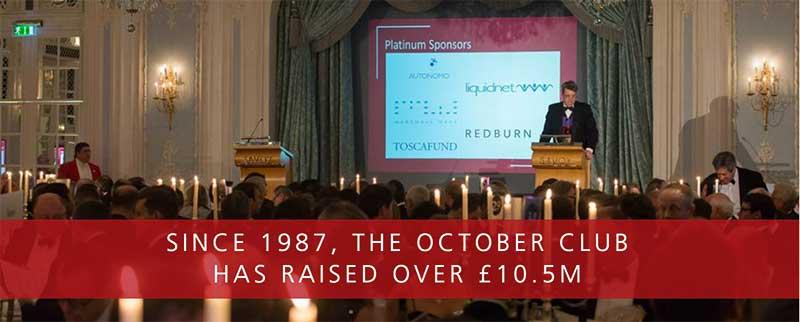 October Club has raised over £10.5m