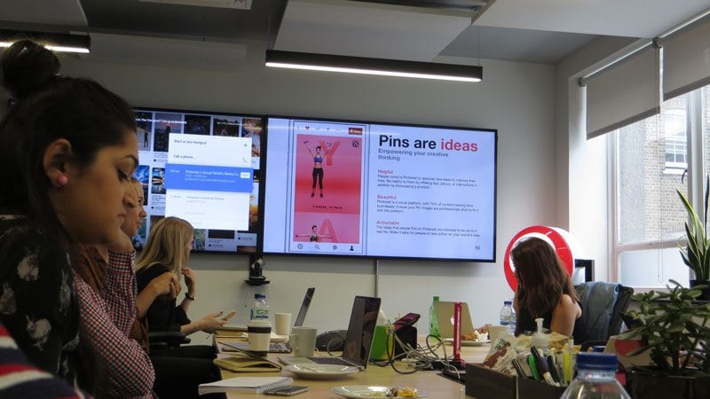 Pins are ideas - slide at Pinterest UK